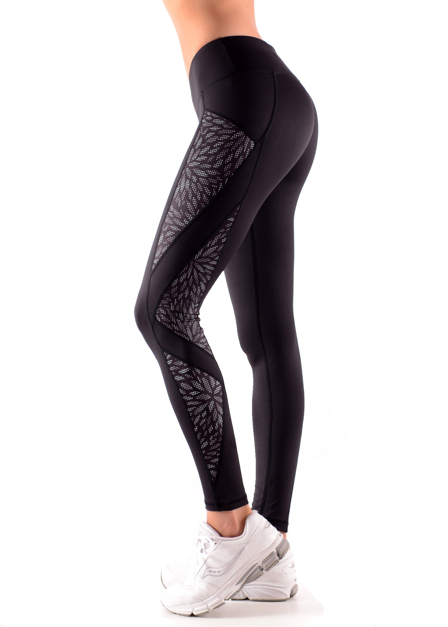 Shimmer Leaf STEALTH F/L Tights