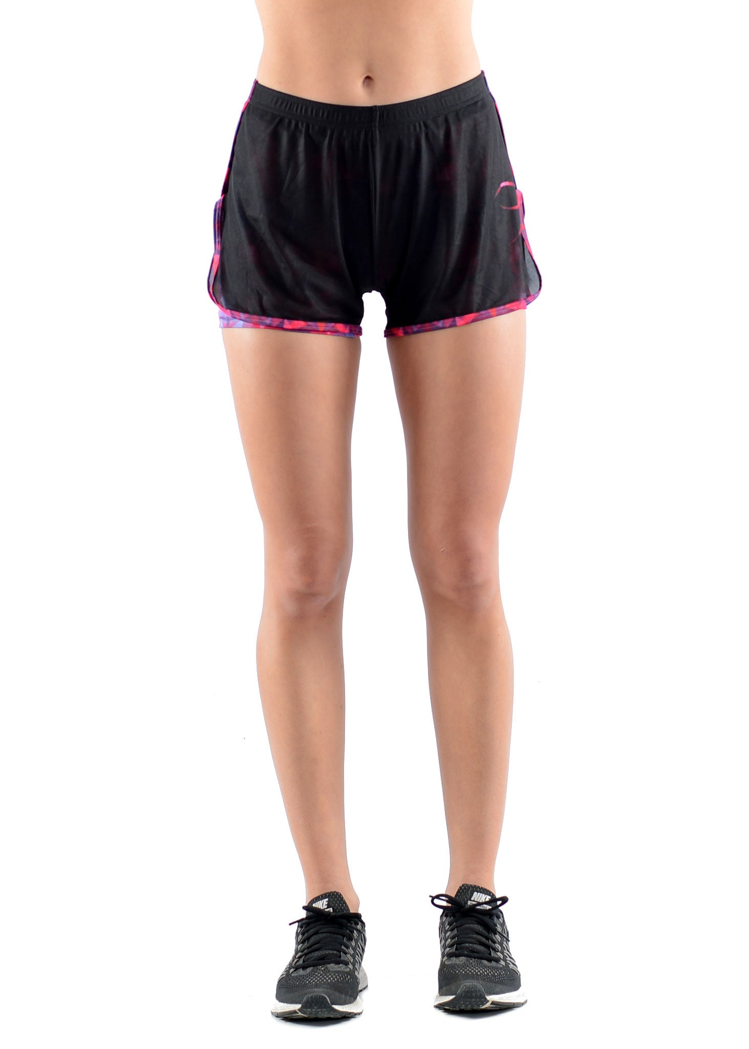 2-In-1 Flex Run Shorts - Sunset Flare