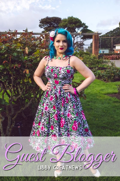 Guest Blog - Mrs Greatnews - Blue Tresses & Pretty Dresses