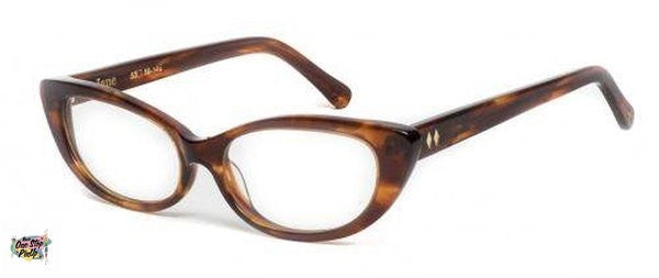 Tres Noir Tortoise Jane Clear Lens Optical Glasses