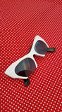 Designer Inspired Thick Cat Eye Sunglasses
