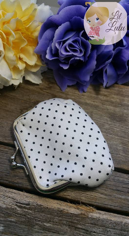 Lil Lulu Polka Dot Coin Purse (Various Colours!)