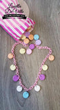 Louella DeVille Handmade My Sweet Valentine Heart Candy Necklace