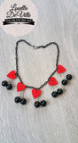 Louella DeVille Handmade Queen Of Hearts Necklace