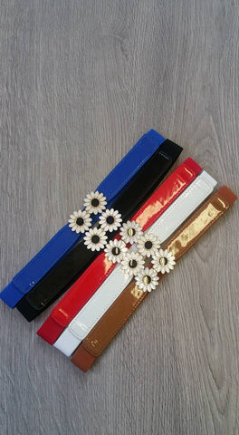 Daisy Chain Elastic Belt (Various Colours)