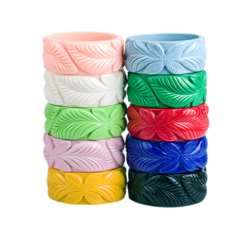 Tiki Time Bamboo Twist Bangle