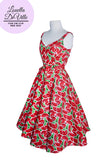 Louella DeVille Watermelon Loretta Swing Dress