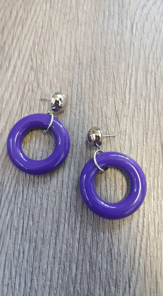 Louella DeVille Handmade Twiggy Hoops (Various Colours!)
