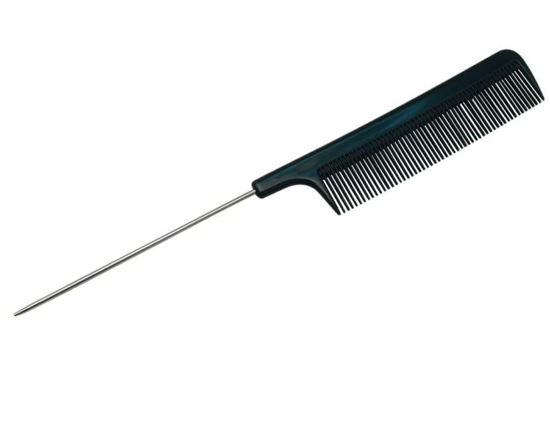 Single Metal Tail Comb