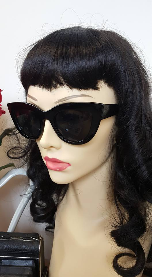 Classic Black Trouble Maker Sunglasses