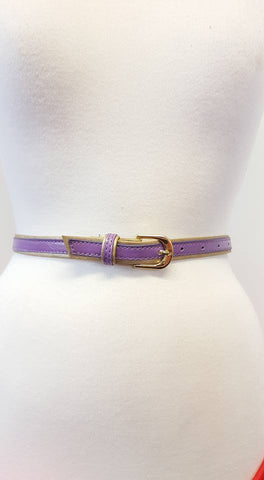 Silver Buckle Elastic Belt (Various Colours!)