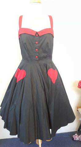 PRE LOVED! PUG Black Betsy Swing Dress