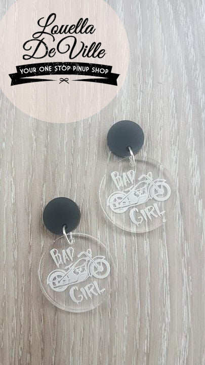 Louella DeVille Handmade Bad Girl Earrings