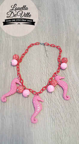 Louella DeVille Rose Sea Siren Necklace