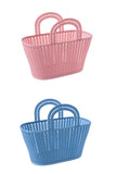 Kitschy Kute Plastic Handbag Basket (2 Colours!)