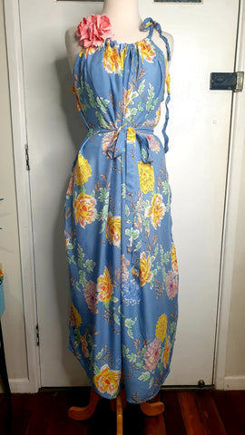 Sunshine Tara Tiki Maxi Dress Feeling The Blues