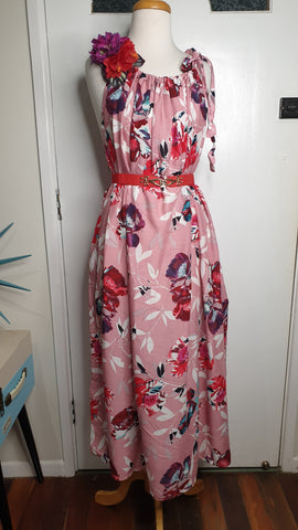 Sunshine Tara Maxi Dress Musk Pink Rose