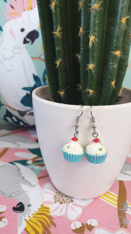 Louella DeVille Cute As a Cupcake Earrings