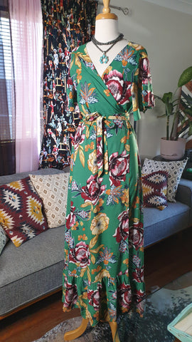 Sunshine Tara Maxi Dress Secret Garden