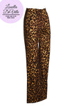 Louella DeVille Into The Jungle Leopard Hayworth Swing Pants