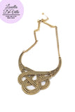All Hallows Eve Gypsy Golden Knot Necklace