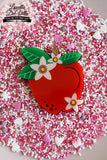 Louella DeVille Handmade An Apple A Day Premium Brooch