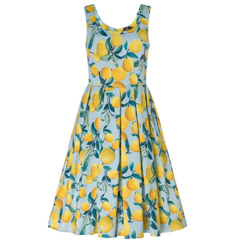 Lindy Bop Dawn Woodland Fairy Print Swing Dress