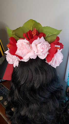 Queen Of The Rainforest Fascinator Headband