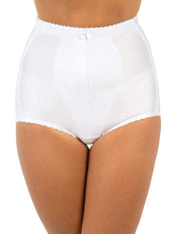 Medium Control Tummy Tuck & Bum Lift Shaping Briefs (Black & White)