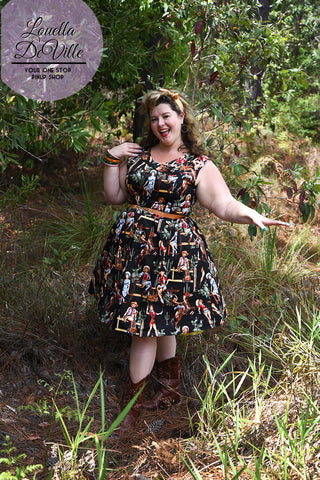 Timeless Black Yee Haa Summer Swing Dress