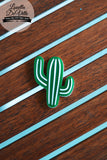 Louella DeVille Handmade Cool Cactus Brooch