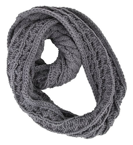 Winter Plaited Neck Snood Scarf (Various Colours!)