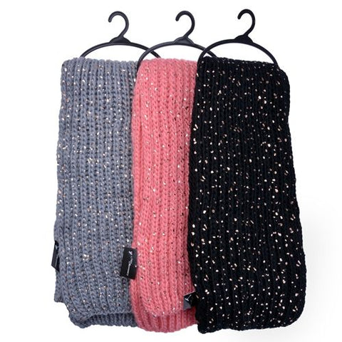 2 Pack Knee High Cable Knit Winter Socks (Various Colours)