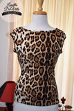 Louella DeVille Saddle Top Leopard