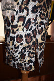 Louella DeVille Saddle Dress Leopard