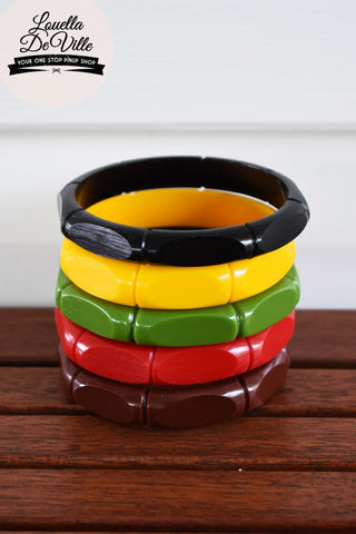 Belle Tiki Bamboo Bangle
