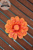 Louella DeVille Single Gerbera Hair Flower (Various Colours!)