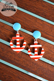 Louella DeVille Anchors Aweigh Earrings (Various Colours)