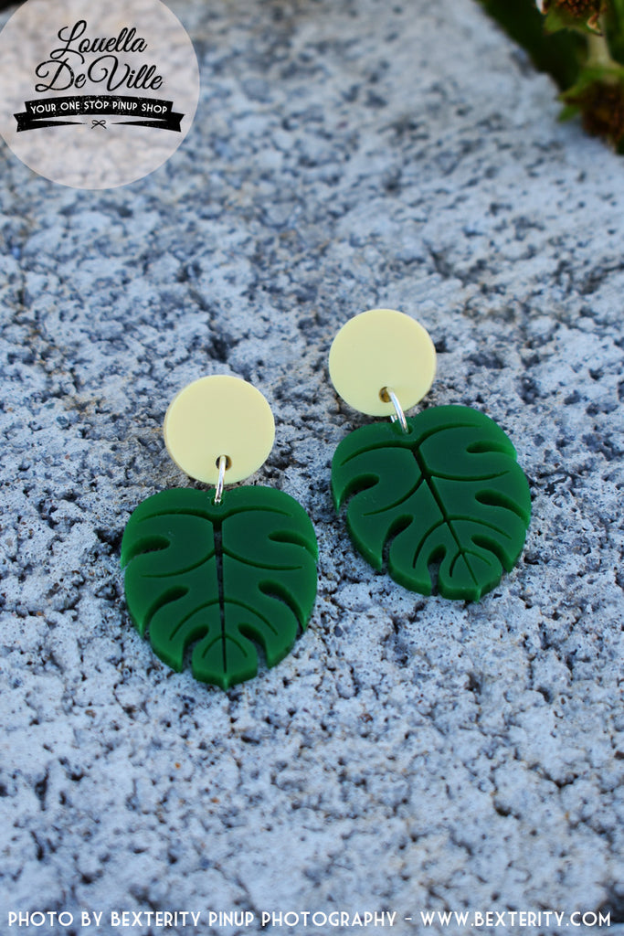 Louella DeVille Handmade Jungle Fever Earrings