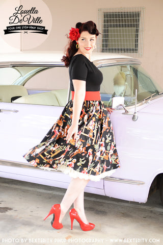 Louella DeVille Yee Haa Bettie Skirt