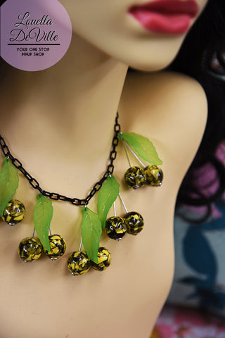 Louella DeVille Handmade This SH*T is BANANAS Necklace
