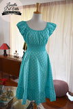 So Sweet Sara Mint Polka Dot Dress
