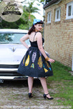 Louella DeVille Bettie Skirt Mid Century Fish
