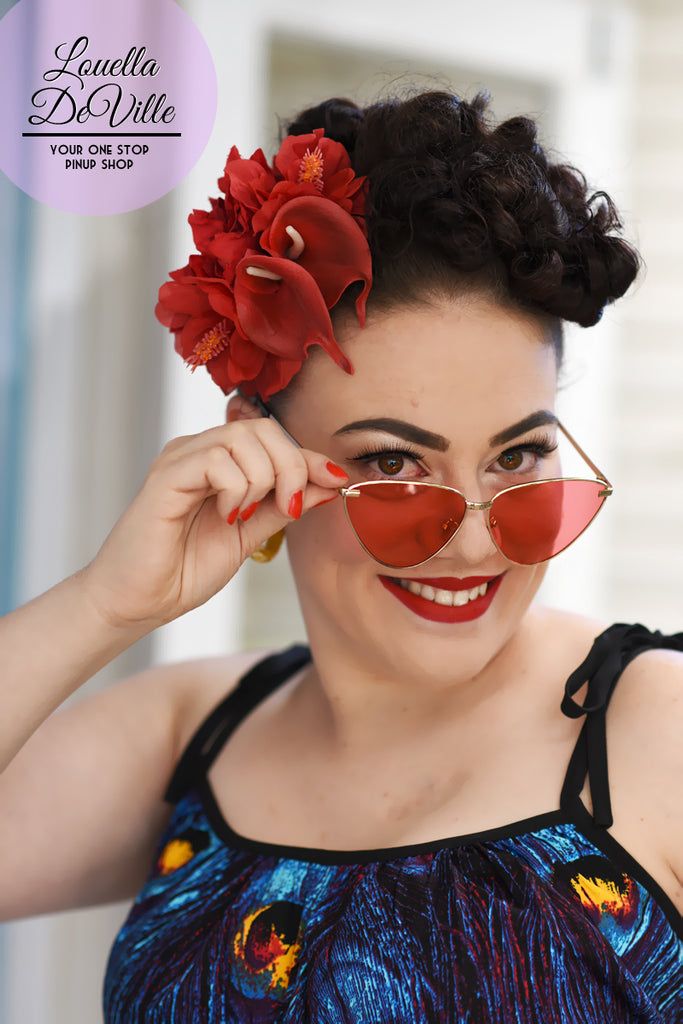 May Day Cat Eye Sunglasses (Various Colours!)