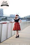 Louella DeVille Around Australia Bettie Skirt