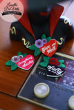 Louella DeVille Handmade Say It Aint' So Premium Brooches (New Designs!)