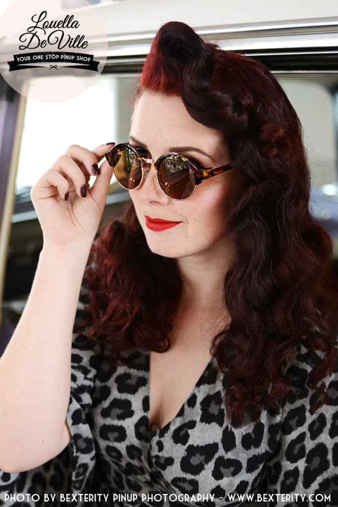 1930s Tortoise Art Deco Sunglasses