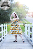 Louella DeVille Sunflowers Polly Dress