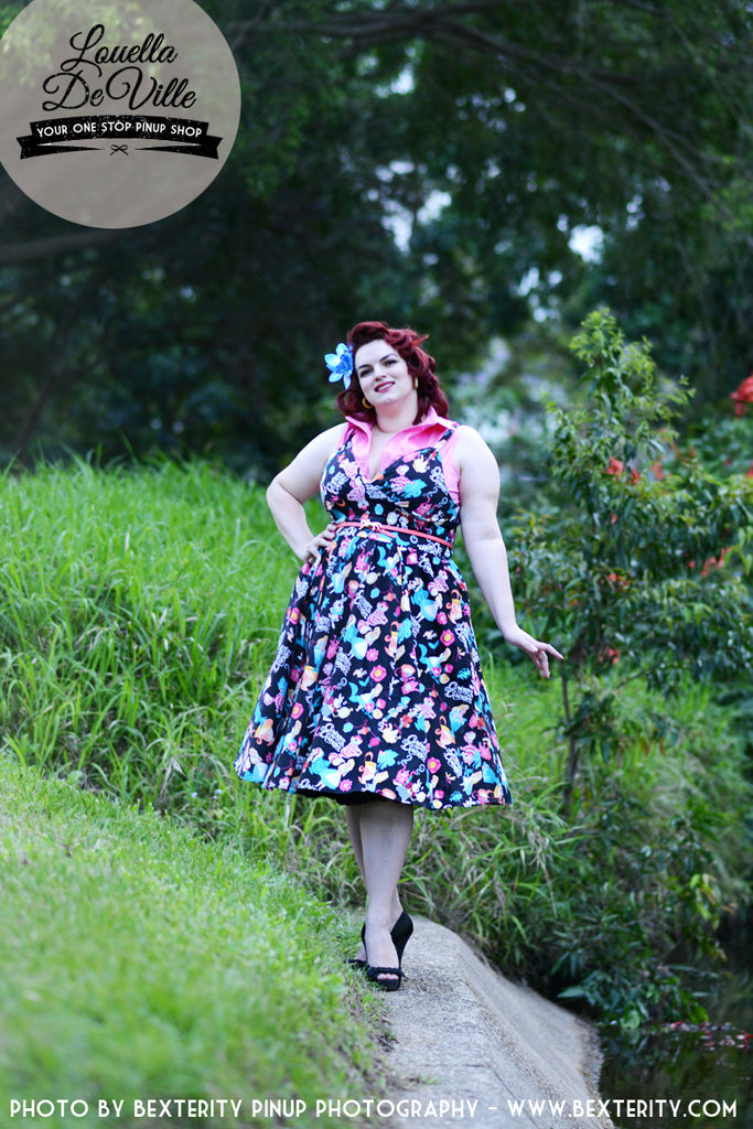 Louella DeVille Priscilla Swing Dress Curious Alice