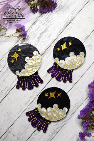 All Hallows Eve A Night In Transylvania Earrings